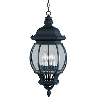 Charlton Home Didcot 4 Light Outdoor Hanging Lantern