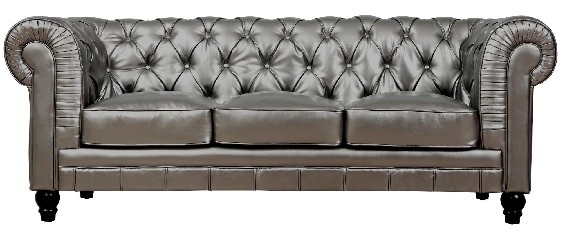 Design Chesterfield Couch mason 83 leather chesterfield sofa reviews joss main sofa