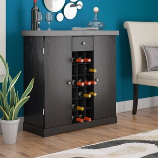 Zipcode Design Melina 18 Bottle Floor Wine Cabinet