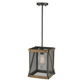 Carson II 1-Light Square/Rectangle Pendant by Ove Decors