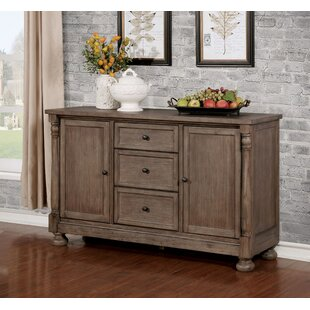 Faunce Rustic Buffet Table Charlton Home