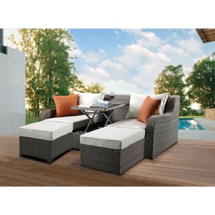 Winebarger Patio Sectional with Cushions