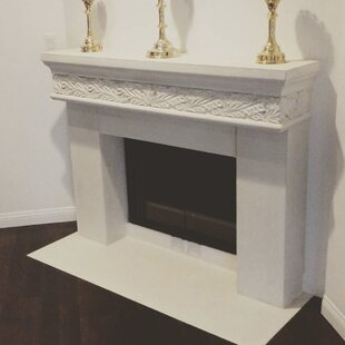 Bonaparte Fireplace Surround With Heart By Los Angeles Cast Stone