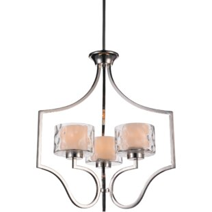 CWI Lighting Lorri 3-Light Shaded Chandelier
