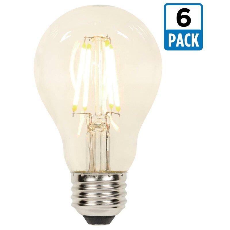 Westinghouse Lighting 7 Watt 60 Equivalent A19 Led Dimmable Light Bulb Warm White 2700k E26 Base Reviews Wayfair