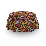Leaves Ottoman Slipcover (Set of 2) by East Urban Home