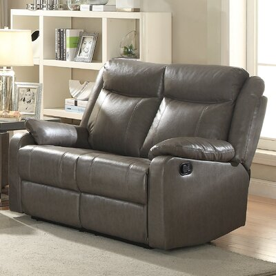 Amazing Weitzman Double Reclining Loveseat Red Barrel Studio Gmtry Best Dining Table And Chair Ideas Images Gmtryco
