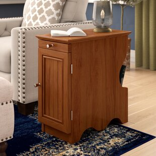 Crosskennan End Table With Storage by Charlton Home