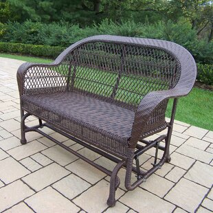 Coventry Wicker Glider by Oakland Living