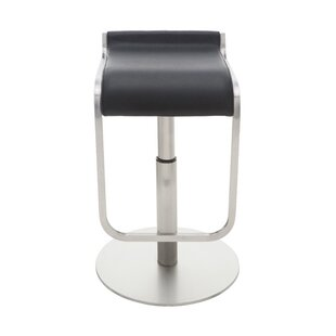 Nuevo Adora Adjustable Height Bar Stool