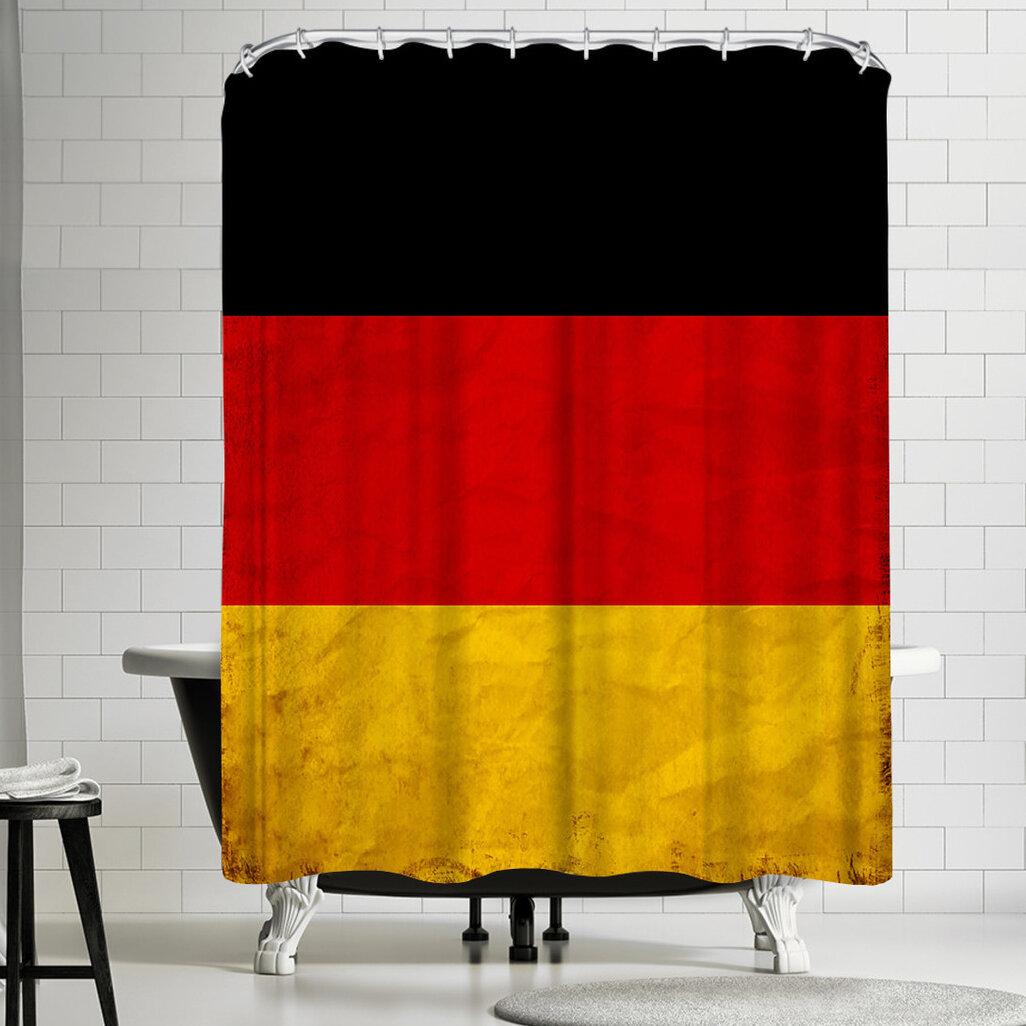 East Urban Home Wonderful Dream Germany Flag Single Shower Curtain Wayfair