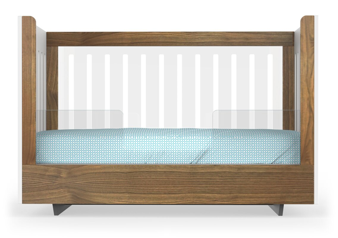 Roh Crib Acrylic Conversion Toddler Bed Rail