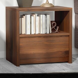 Posner 1 Drawer Nightstand by Mercury Row