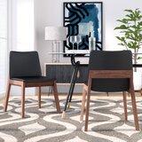 Polizzi Side Chair in Ebony (Set of 2) by Brayden Studio®