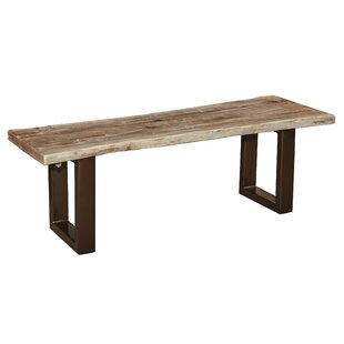 Waldman Wood Bench by Millwood Pines