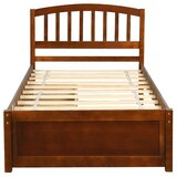 Twin Storage Platform Bed by August Grove®