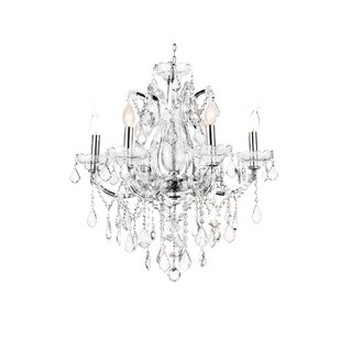 CWI Lighting Maria Theresa 6-Light Chande..