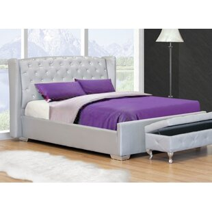 Upholstered Platform Bed by BestMasterFurniture Fresh