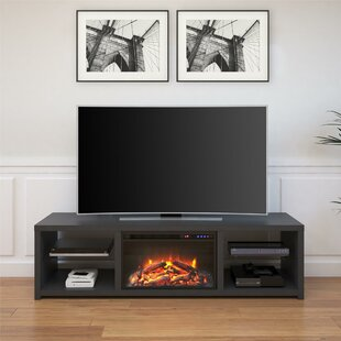 70 Inch And Larger Fireplace Tv Stands You Ll Love Wayfair