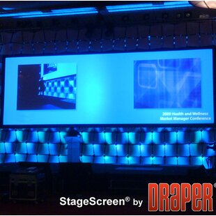 StageScreen Black Portable Projection Screen