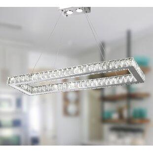 Leiter 16-Light LED Crystal Chandelier by Orren Ellis