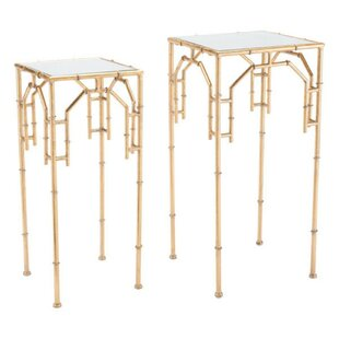 Ranchester Bamboo 2 Piece Nesting Tables