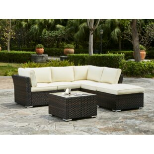 Alcott Hill Waltonville 5 Piece Sectional Set with Cushions