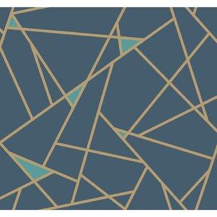 Modern Blue Wallpaper