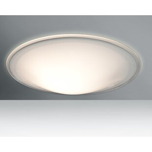 Besa Lighting Luma 2-Light LED Outdoor Flush Mount