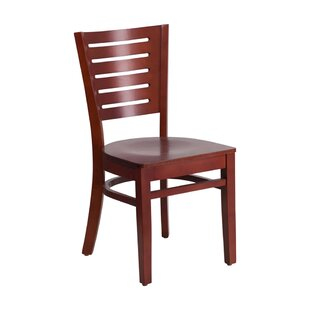 Darby Series Solid Wood Dining Chair by Offex