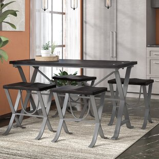 Charleen Dining Table and Stools (Set of 5)