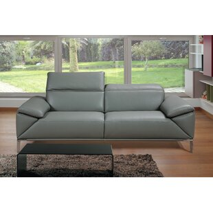 Greta Leather Loveseat