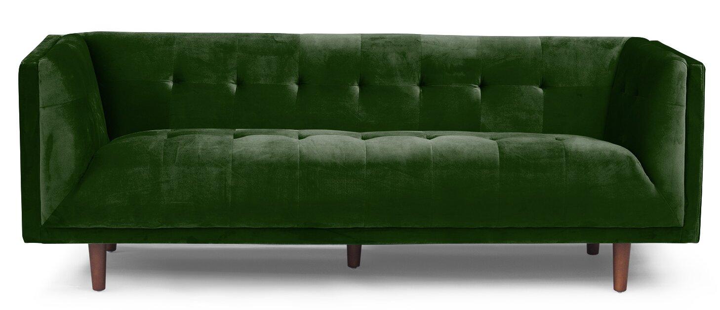 Sofa Chesterfield ferrao chesterfield sofa reviews allmodern