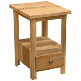 Blue Stain Pine Nightstand by Fireside Lodge
