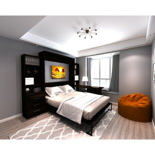Purchase Brass Cannon Queen Murphy Bed by Brayden Studio Reviews (2019) & Buyer's Guide