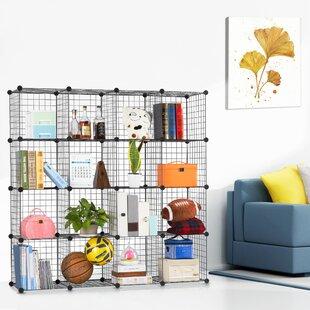 Fitzpatrick 6 Cube Corner Unit Bookcase