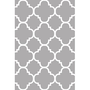 Buy Mccampbell 3D Gray/White Area Rug By Ivy Bronx