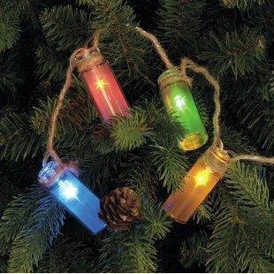 Glass Bottle 10 Light String Light by The Seasonal Aisle