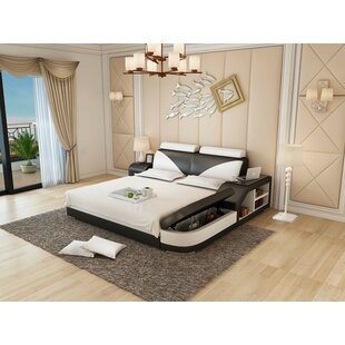 Hereth King Upholstered Low Profile Storage Bed