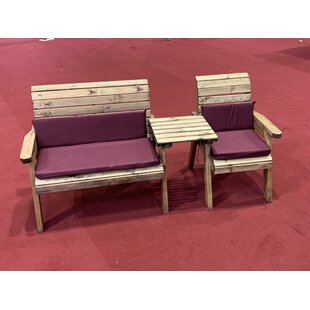 Buy Sale Price Gallagher Wooden Love Seat