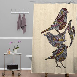 Deepak 3 Kings Single Shower Curtain