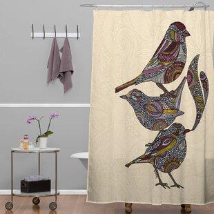 Deepak 3 Kings Single Shower Curtain