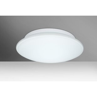 Besa Lighting Sola 3-Light Outdoor Flush Mount