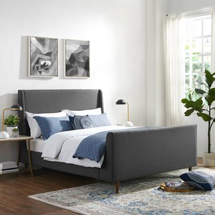 Compare Shadle Queen Upholstered Panel Bed by Ivy Bronx Reviews (2019) & Buyer's Guide