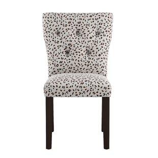 Beau Marksbury Tufted Hourglass Side Chair
