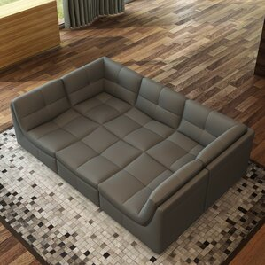 Monaco Modular Sectional by Hokku Desi..
