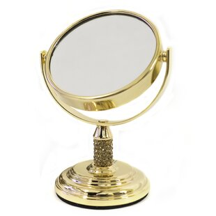 Affordable Jules Mini Dual Sided Vanity Mirror By Sweet Home Collection
