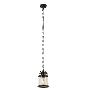 Reviews Chenoweth 1-Light Outdoor Hanging Lantern By Gracie Oaks