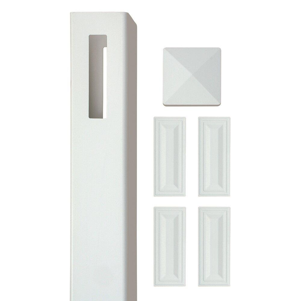 Sixth Avenue Building Products Wexford Vinyl Post Kit Reviews Wayfair