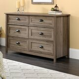 Rossford 6 Drawer Double Dresser by Three Posts™